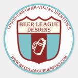 Beer League Sticker