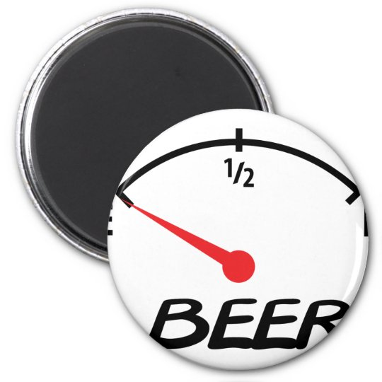 beer level icon magnet
