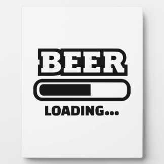 Beer loading bar photo plaques