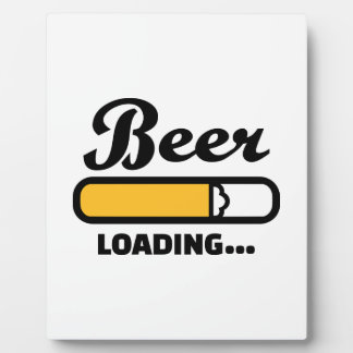 Beer loading photo plaques
