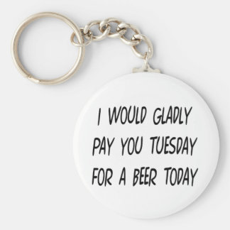 Beer Loan Keychain
