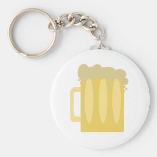 Beer Logo Keychain