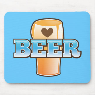 BEER love Mouse Pad