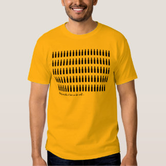 Beer Lover - 99 Bottles of Beer on the Wall T-shirt