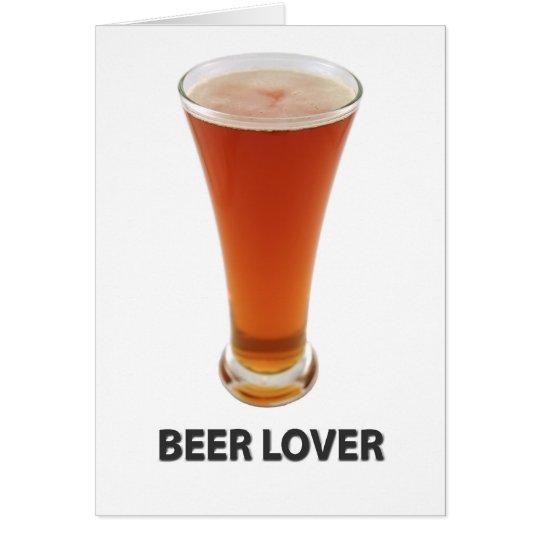 Beer Lover Card