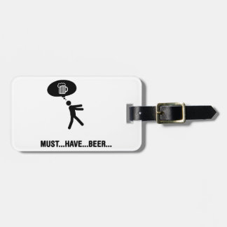 Beer Lover Tag For Bags