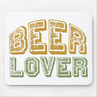 Beer Lover Mouse Mat