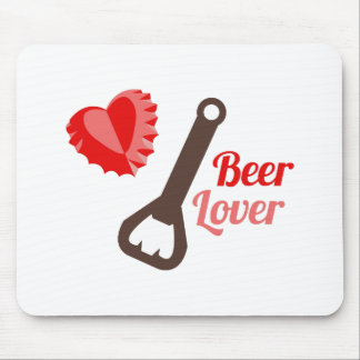 Beer Lover Mouse Pad