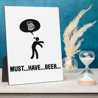 Beer Lover Photo Plaque