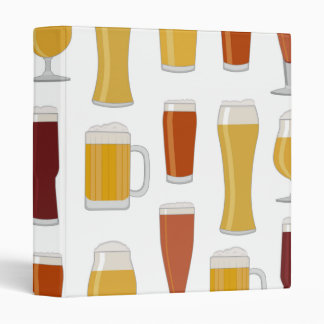 Beer Lover Print Binder