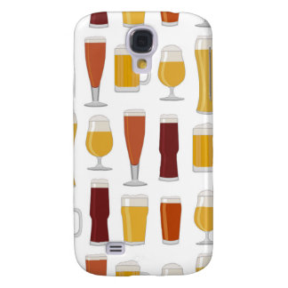 Beer Lover Print Galaxy S4 Cover