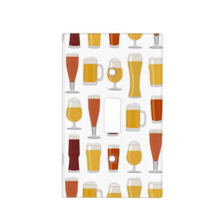 Beer Lover Print Light Switch Cover
