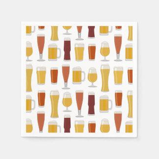 Beer Lover Print Napkins