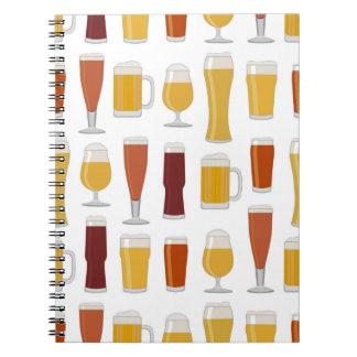 Beer Lover Print Notebook