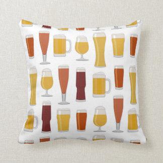 Beer Lover Print Pillow