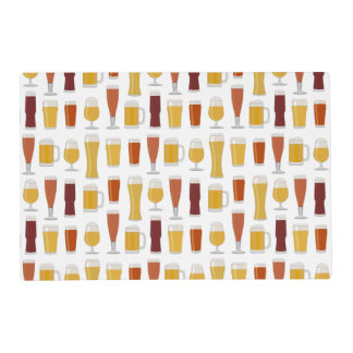Beer Lover Print Placemat