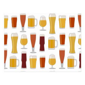 Beer Lover Print Postcard