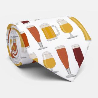 Beer Lover Print Tie
