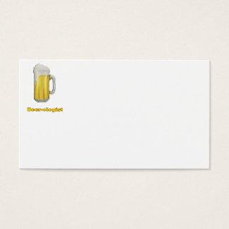 Beer lovers humor business card