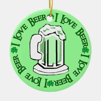 Beer Lovers Christmas Ornament