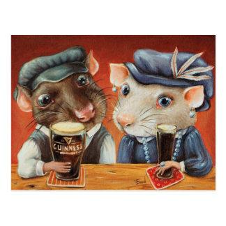Beer Lovers Postcard