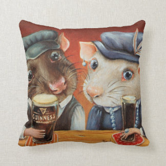 Beer Lovers Throw Pillow