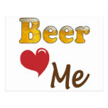 Beer Loves Me Post Cards