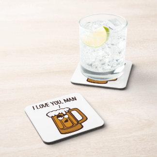 Beer Loves You, Man Coasters