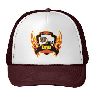 Beer Loving Dad Fathers Day Gifts Trucker Hat