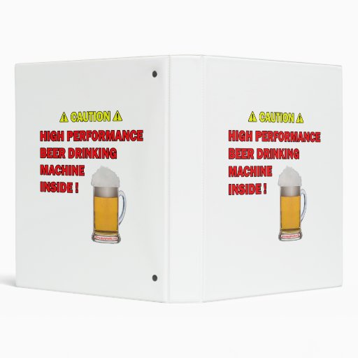Beer Machine Vinyl Binders