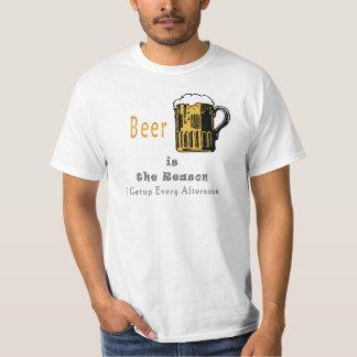 Beer Make My Day - Mens Funny T shirts