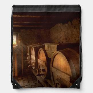 Beer Maker - The brewmasters basement Drawstring Bag