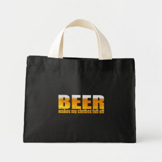 Beer Makes My Clothes Fall Off Tote Bag