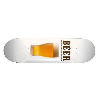 Beer: Making white men dance since 3000 BC Skateboard Deck
