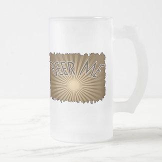Beer Me 4 Glass Mug