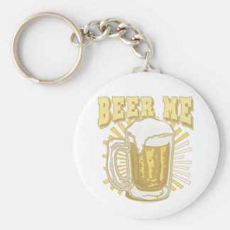 Beer Me Beer Gear by Mudge Studios Basic Round Button Keychain