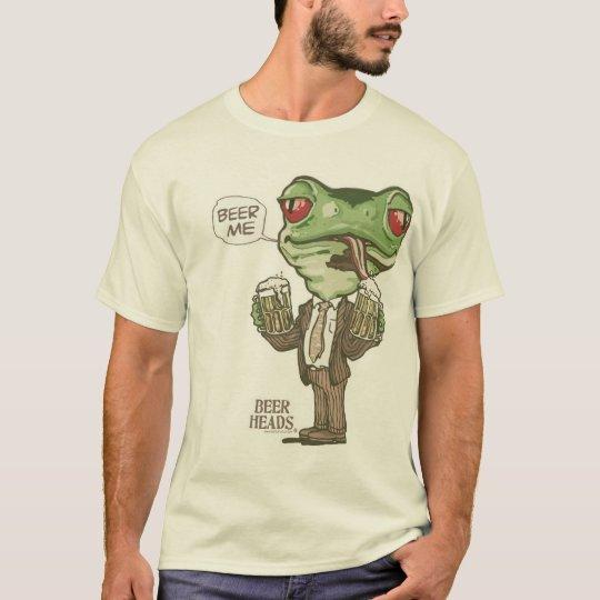 Beer Me Beer Heads by Mudge Studios T-Shirt