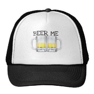 BEER ME BEER STEIN PRINT TRUCKER HAT