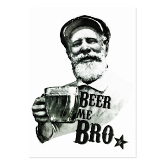 Beer me Bro Large Business Cards (Pack Of 100)