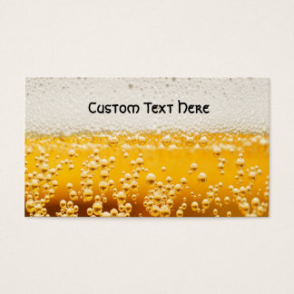 beer me business card