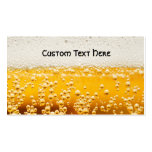 beer me business card template