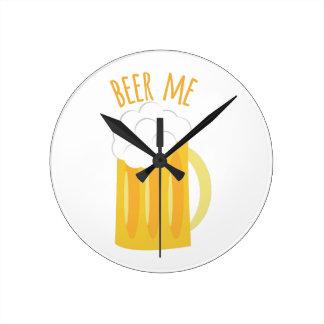 Beer Me Round Wallclock