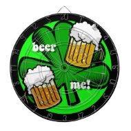 beer me dart board