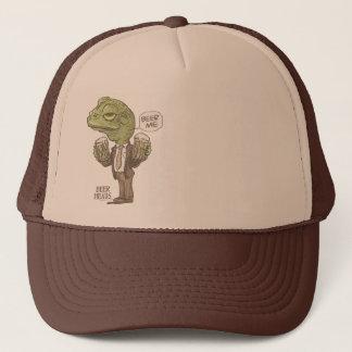 Beer Me Frog by Mudge Studios Trucker Hat