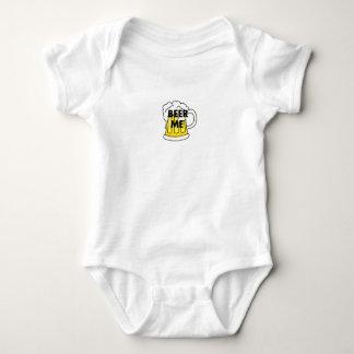 Beer Me funny gifts Baby Bodysuit
