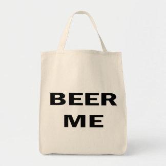 Beer Me Grocery Tote Bag