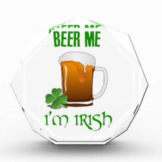 Beer Me I'm Irish Acrylic Award