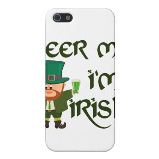 Beer me, I'm Irish Cover For iPhone SE/5/5s