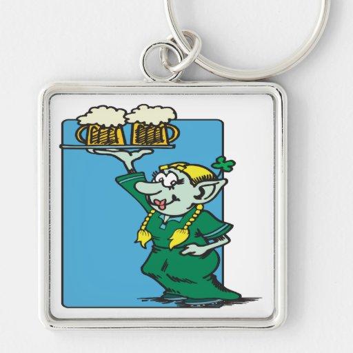 Beer Me Im Irish Key Chain