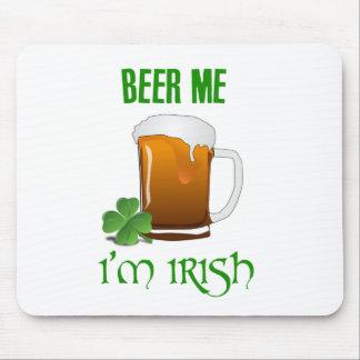Beer Me I'm Irish Mouse Pad